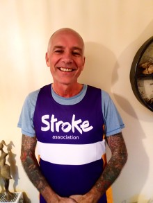 Waterlooville resident goes the extra mile for the Stroke Association