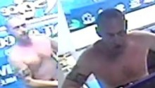 CCTV images released after restaurant staff threatened with a sledgehammer