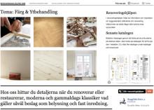 Renoveringshjälpen på Byggfabrikens webbplats hjälper dig som renoverar ett gammalt hus eller lägenhet.