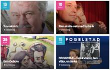 Lindesbergs Riksteaterförening: Vårterminens teaterprogram