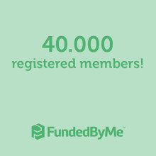 FundedByMe reaches 40.000 registered members