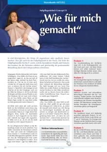"""Fußpflegeeinheit Concept F3: """"Wie für mich gemacht"""""""