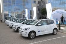 Volkswagen leverer 66 e-up! til Aarhus Kommune
