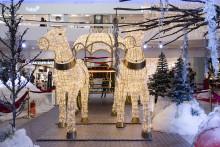 Unik juldekor på Frölunda Torg