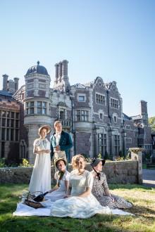 Jane Austen i kostym - pressinbjudan