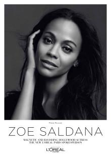 Zoe Saldana Pressemelding