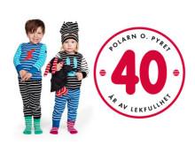 Polarn O. Pyret – 40 år av lekfullhet!
