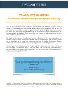 Trygghetsakademin - Professionell vidareutbildning och kompetensutveckling