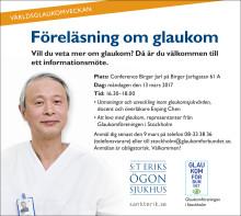 Nu kan du få veta mer om glaukom – en av Sveriges vanligaste ögonsjukdomar