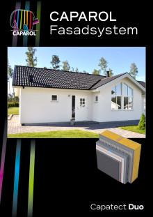 Capatect Duo – Ventilerat och dränerat tvåstegstätat fasadsystem