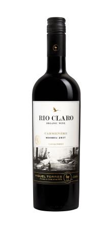 Ännu en ärorik utmärkelse och ännu ett utmärkt vin - Rio Claro Carmenère
