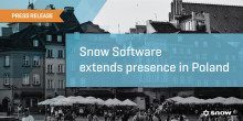 Snow Software etablerer i Polen