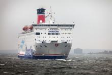 Här anländer Stena Vision till Karlskrona