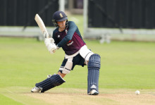 England U19s suffer five-wicket defeat to India in first tri-series match