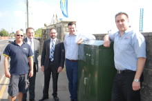 Three New Cabinets Make Superfast Broadband Available to 401 Homes and Businesses in Brean