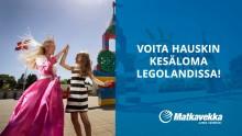 Matkavekka lahjoittaa yhdelle perheelle LEGOLAND-loman