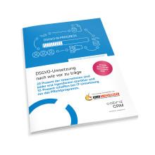 Neue cobra-Blitzumfrage: DSGVO-Umsetzung nach wie vor zu träge