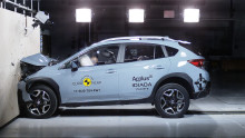 Subaru bevisar sin höga säkerhet