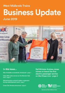 West Midlands Trains Business Update - June 2019