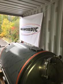Infranordic fraktar bryggeriutrustning