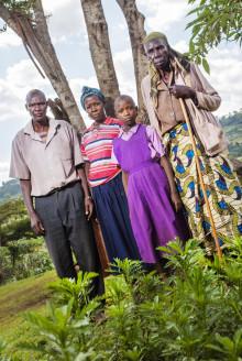Familjen som står upp mot avskogningen