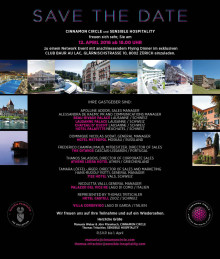 Cinnamon Circle & Sensible Hospitality Network Event