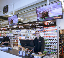Inet storsatsar på levande butiksupplevelser