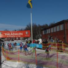 Formtoppning inför Årefjällsloppet i Vålådalen