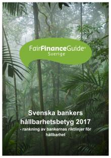 Ny rankning av svenska storbanker - sämst betyg inom klimat och skatteflykt
