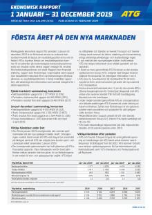 Ekonomisk Rapport 2019