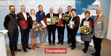 """Dreimal Gold beim """"Schulbuch des Jahres"""" für Cornelsen: """"Highlight Englisch"""", """"mathewerkstatt"""" und """"mBook Geschichte"""" als Sieger gekürt"""