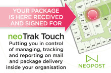 Putting you in control of managing, tracking and reporting mail and package delivery inside your organisation