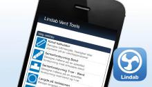 Lindab lanserer nå appen Vent Tools