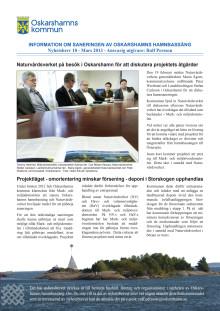 Nyhetsbrev 10 för Projekt Sanering av Oskarshamns hamnbassäng