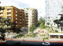 Nya kvarter utvecklar Solnavägen till levande stadsgata