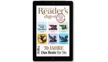 """Zeitschriften """"Reader's Digest"""" und """"daheim"""" als ePaper"""