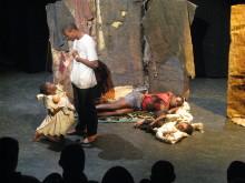 Skolprojektet bjuder på teater från Nairobis slumområden