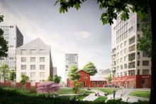 HSB påbörjar planarbete för 440 lägenheter på Bolidenplan