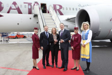Qatar Airways new direct route inaugurated at Göteborg Landvetter Airport