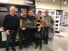 Happy Homes Luleå  blev Årets Jotun-återförsäljare!