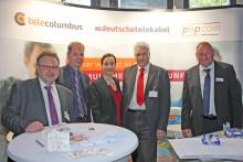 Neuer gemeinschaftlicher Messeauftritt der Tele Columbus Gruppe - Zusammen stark für die Wohnungswirtschaft