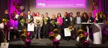 Rekordmånga nomineringar till årets MegAward