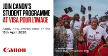 Canon invites up-and-coming photographers to grow their talents at Visa Pour L'Image