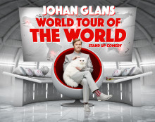 Johan Glans - World Tour Of The World - Till Sparbanken Lidköping Arena