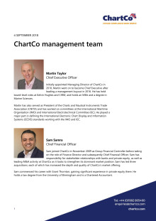 ChartCo Management Team - 2018