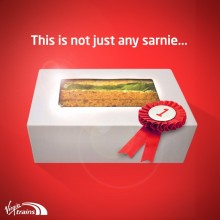 Virgin Trains' sandwich is not just any sandwich; it's Sandwich of the Year
