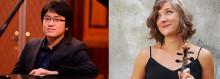 Saana Kähkönen och Duc Ahn Luu bjuder på sonater i Tingsryd