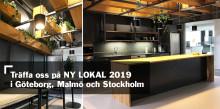 Träffa oss på mässan NY LOKAL i Göteborg, Malmö och Stockholm
