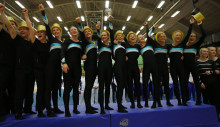 Alla regerande SM-vinnare i truppgymnastik höll för trycket