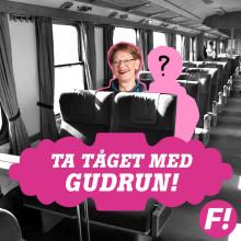 Gudrun Schyman till Göteborg på lördag